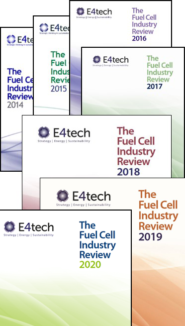 The Fuel Cell Industry Reviews